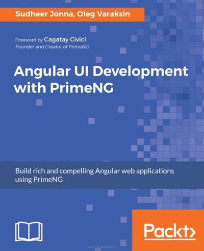 کتاب Angular UI Development with PrimeNG