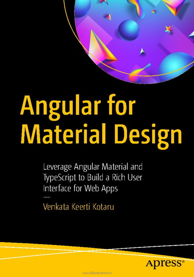کتاب Angular for Material Design