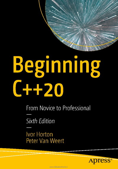کتاب Beginning C++20: From Novice to Professional