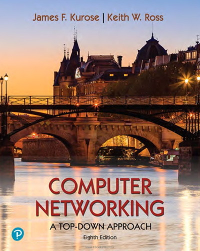 کتاب Computer Networking: A Top-Down Approach, 8th Edition