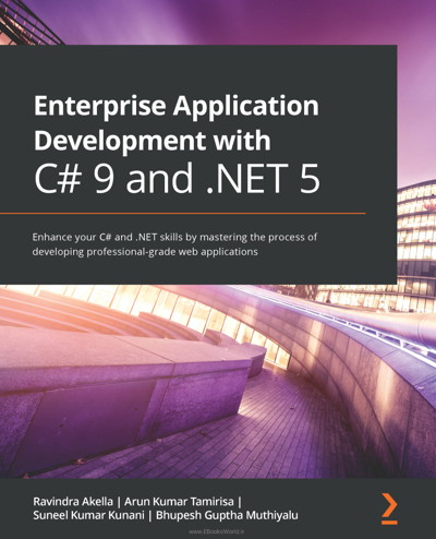 کتاب Enterprise Application Development with C# 9 and .NET 5