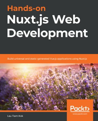 کتاب Hands-on Nuxt.js Web Development