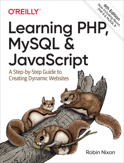 کتاب Learning PHP, MySQL & JavaScript, 6th Edition
