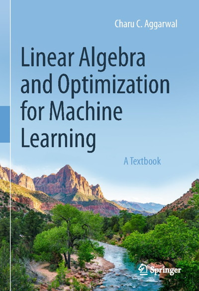 کتاب Linear Algebra and Optimization for Machine Learning