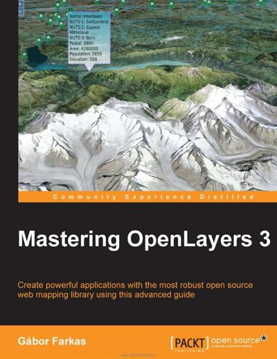کتاب Mastering OpenLayers 3