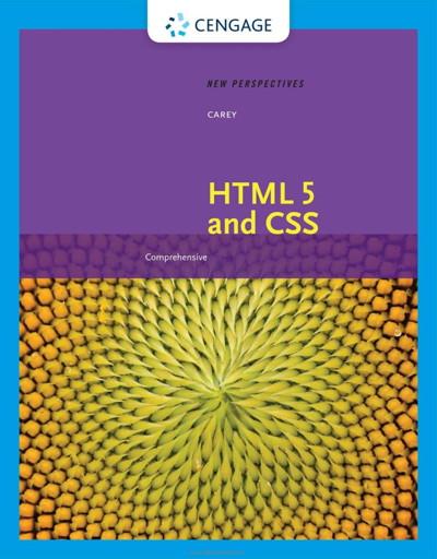 کتاب New Perspectives on HTML 5 and CSS: Comprehensive, 8th Edition
