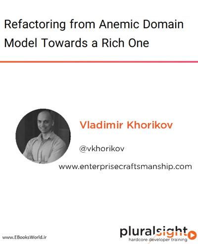 دوره ویدیویی Refactoring from Anemic Domain Model Towards a Rich One