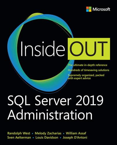 کتاب SQL Server 2019 Administration Inside Out