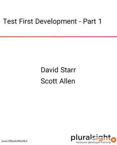دوره ویدیویی Test First Development - Part 1