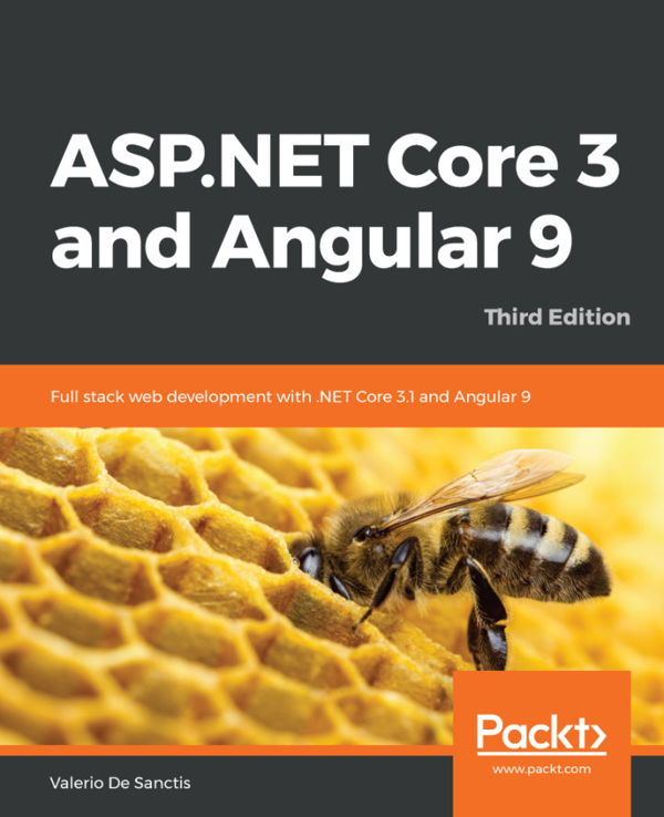 کتاب ASP.NET Core 3 and Angular 9 3rd Edition