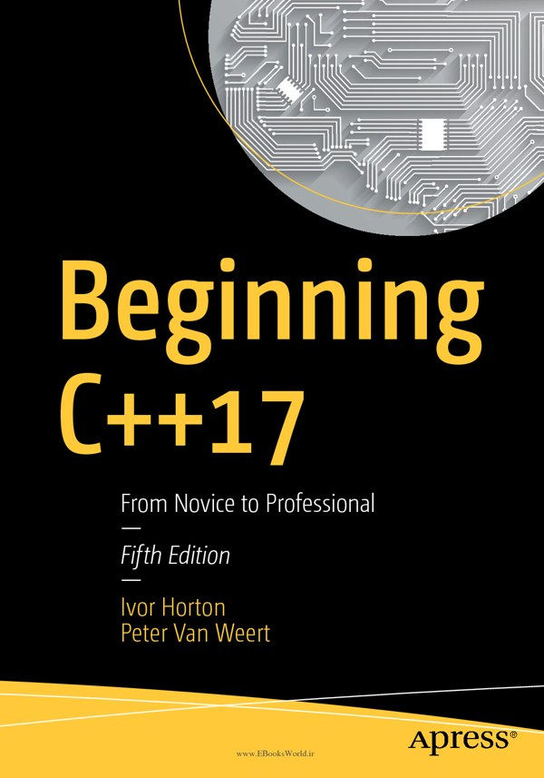 دانلود کتاب Beginning C++17: From Novice to Professional, 5th Edition