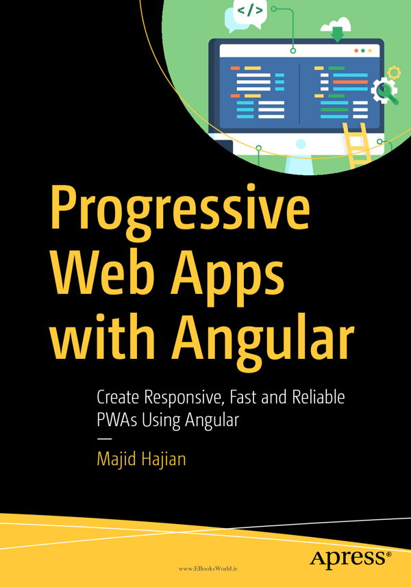 دانلود کتاب Progressive Web Apps with Angular