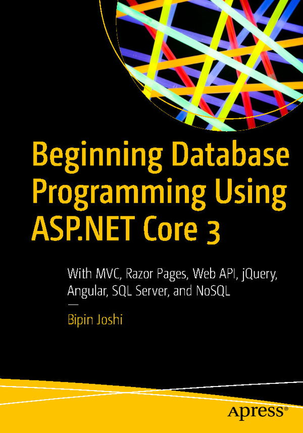کتاب Beginning Database Programming Using ASP.NET Core 3