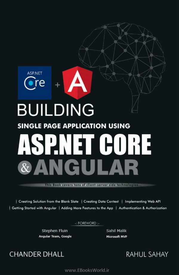 کتاب Building Single Page Application Using ASP.NET Core and Angular