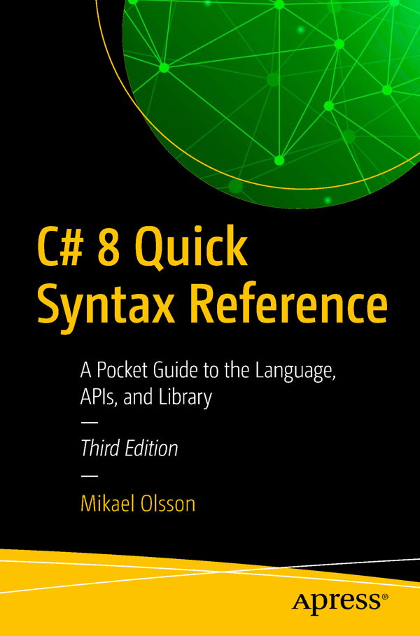 کتاب C# 8 Quick Syntax Reference 3rd Edition