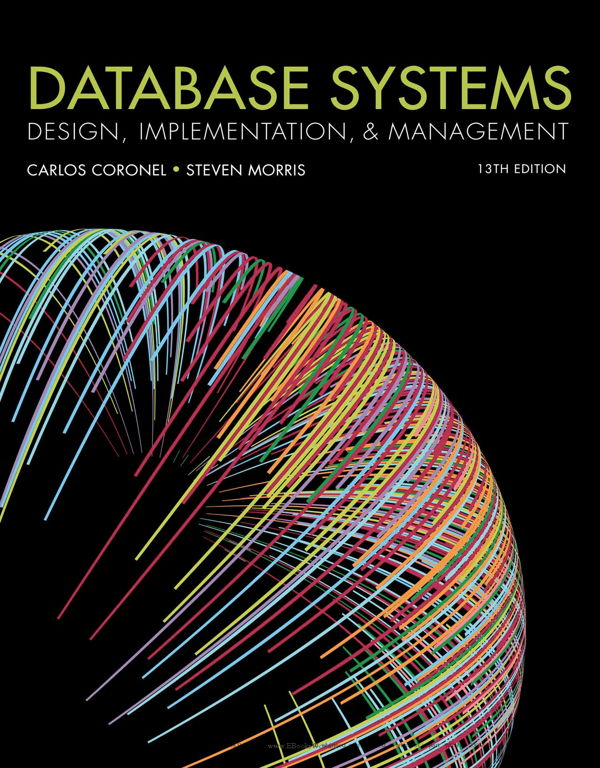 دانلود کتاب Database Systems: Design, Implementation, & Management, 13th Edition