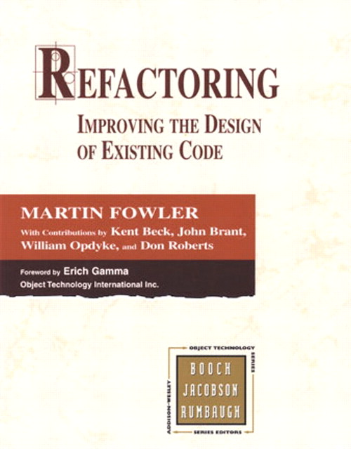 کتاب Refactoring: Improving the Design of Existing Code