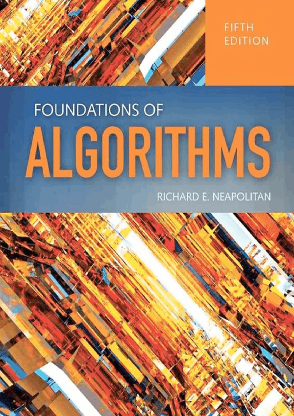 کتاب Foundations Of Algorithms, 5th Edition