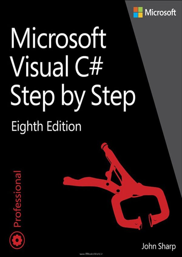 کتاب Microsoft Visual C# Step by Step, Eighth Edition