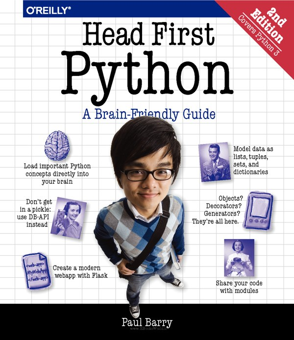 دانلود کتاب Head First Python: A Brain-Friendly Guide, 2nd Edition
