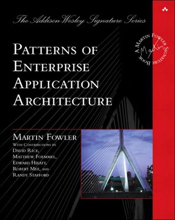 کتاب Patterns of Enterprise Application Architecture