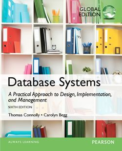 Database Systems: A Practical Approach to Design, Implementation, and Management, 6th Edition