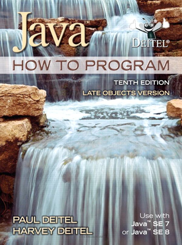 کتاب Java How To Program (late objects) 10th Edition