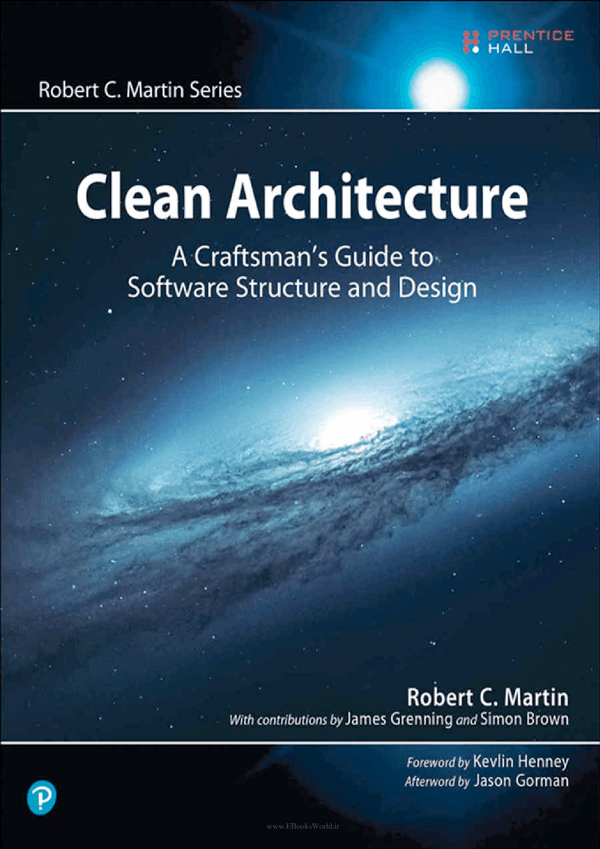 کتاب Clean Architecture: A Craftsman's Guide to Software Structure and Design