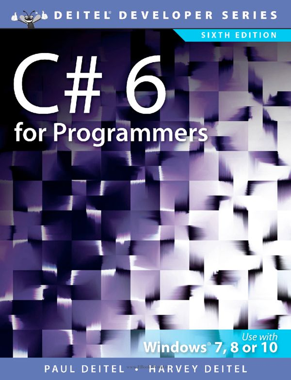 کتاب C# 6 for Programmers 6th Edition