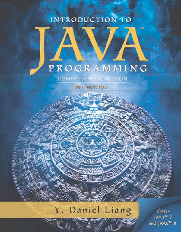 کتاب Intro to Java Programming Comprehensive Version 10th Edition
