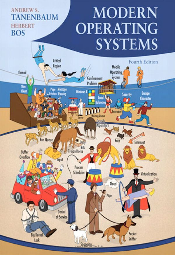 کتاب Modern Operating Systems 4th Edition