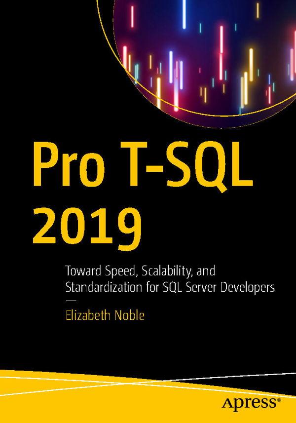 کتاب Pro T-SQL 2019