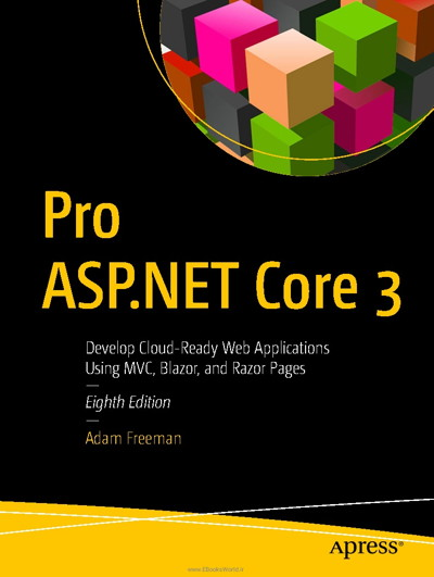 کتاب Pro ASP.NET Core 3, 8th Edition