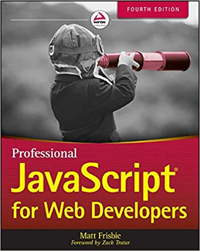 کتاب Professional JavaScript for Web Developers 4th Edition