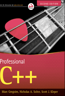 Professional C++ Second Edition