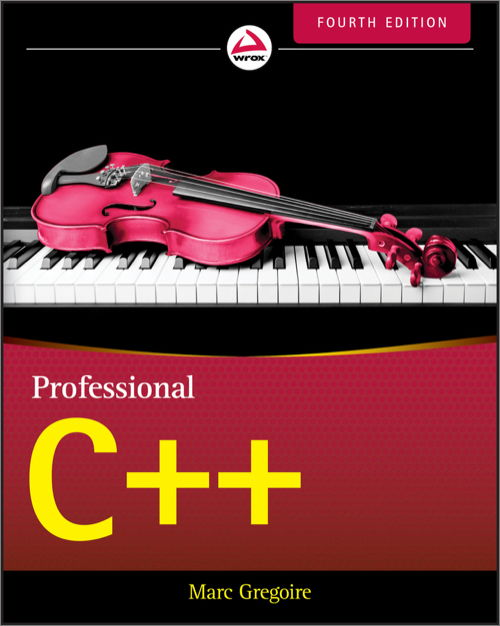 دانلود کتاب Professional C++, 4th Edition