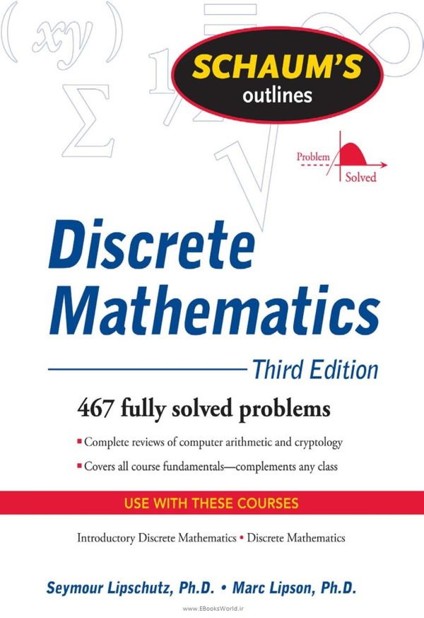 کتاب Schaum's Outline of Discrete Mathematics, Revised Third Edition