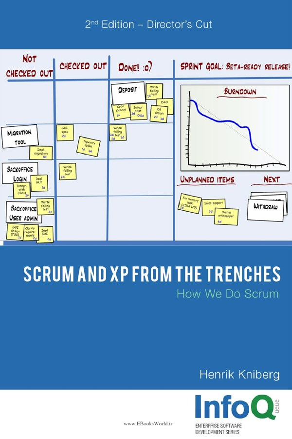 دانلود کتاب Scrum and Xp from the Trenches, 2nd Edition