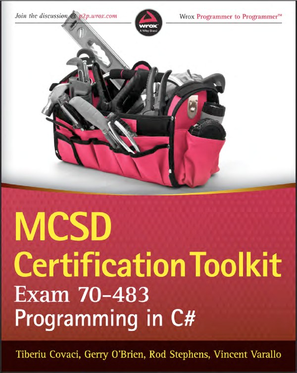 دانلود کتاب MCSD Certification Toolkit Exam 70-483 Programming in C#