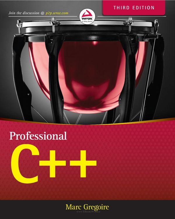 کتاب Professional C++ 3rd Edition
