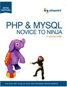 PHP & MySQL: Novice to Ninja 5th Edition