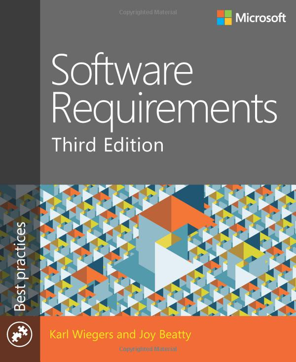 (Software Requirements (3rd Edition