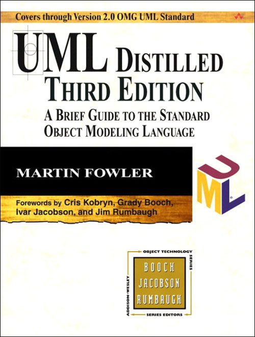 UML Distilled: A Brief Guide to the Standard Object Modeling Language (3rd Edition