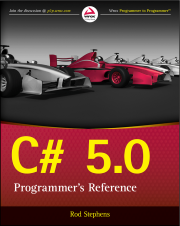 C# refrence book